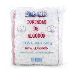 Torunda de Algodon 500grs...