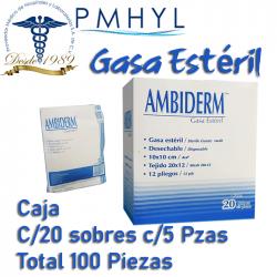Gasa Estéril Ambiderm Caja...