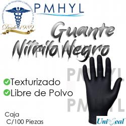 Guante Nitrilo Negro Libre...